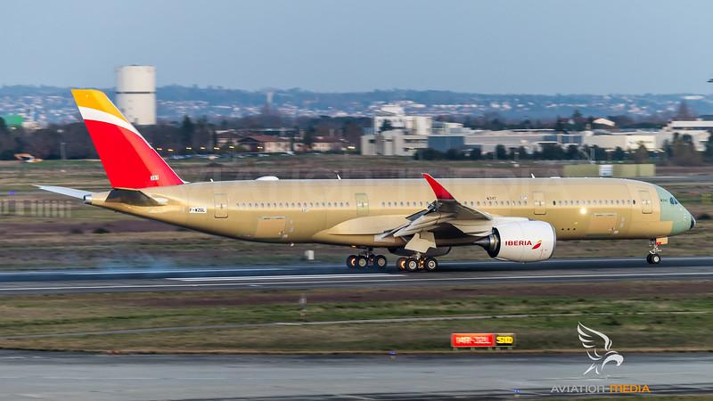 Iberia / Airbus A350-941 / F-WZGL (to be EC-NIG)