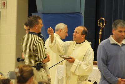 Msgr. Clarke Mass 2010
