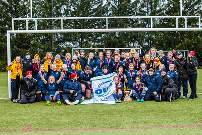 Women's Rugby - Queen's at Guelph - OUA Champions!! 20131026