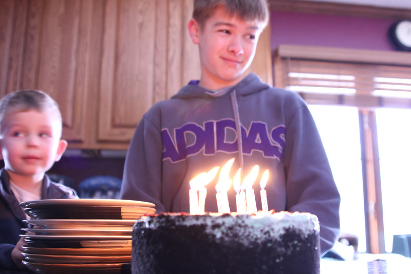 Nicks 13th Bday
