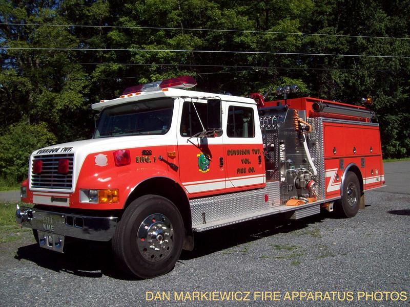 DENNISON TWP. ENGINE 1 1996 INTERNATIONAL/KME PUMPER