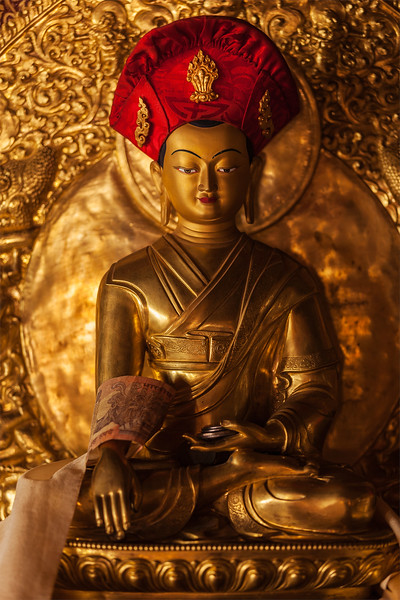 Buddha statue in Lamayuru monastery, Ladakh, India