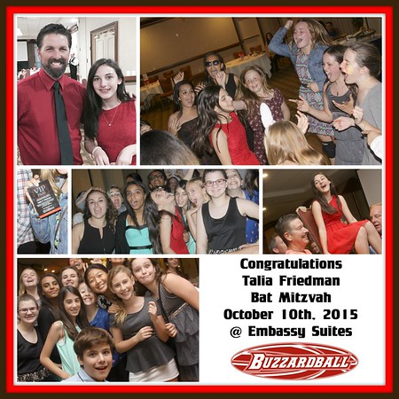 OCTOBER 10TH, 2015 | Talia Friedman Bat Mitzvah