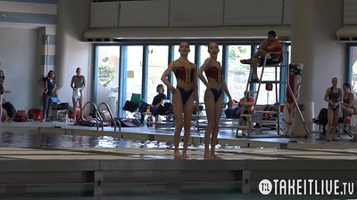E15 Senior Duet Finals Competition 2015 U.S. Open Synchronized Swimming Championships - Takeitlive.tv Livesynchro Channel