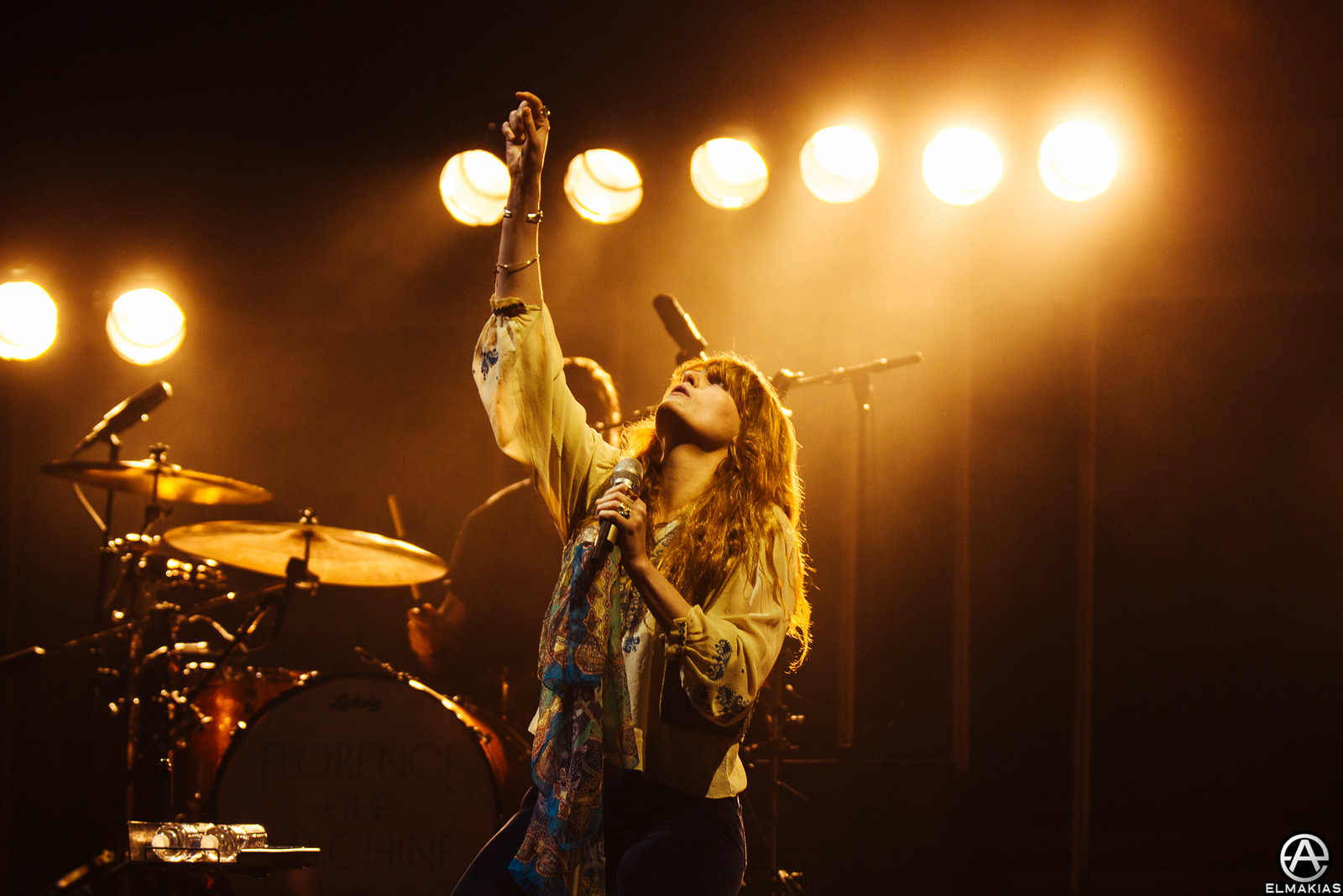 Photo of Florence And The Machine Weenie Roast 2015 by Adam Elmakias