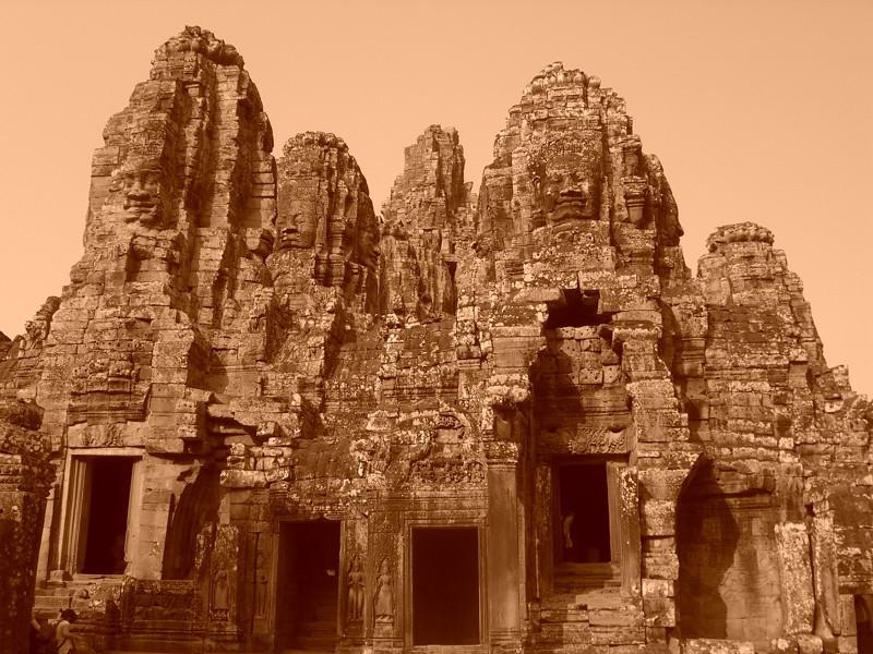 Bayon Temple - Angkor, Cambodia