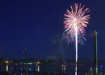 Independence Day Fireworks Oaks Park Portland Oregon