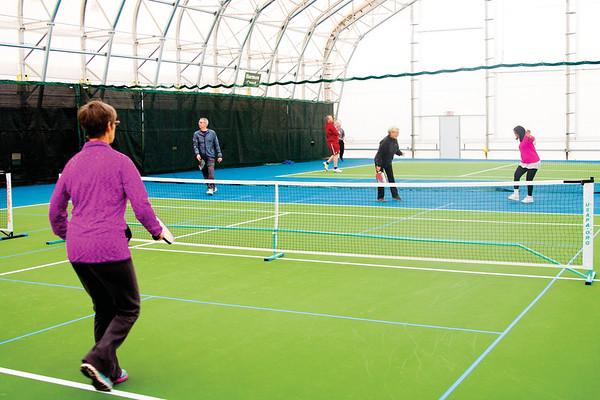 Sheridan Community Tennis Association Grand Opening