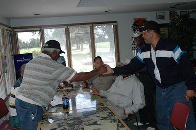 Golfing at Wichita State University GC September 29, 2005