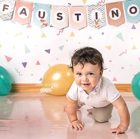 Faustino, sesión smash cake