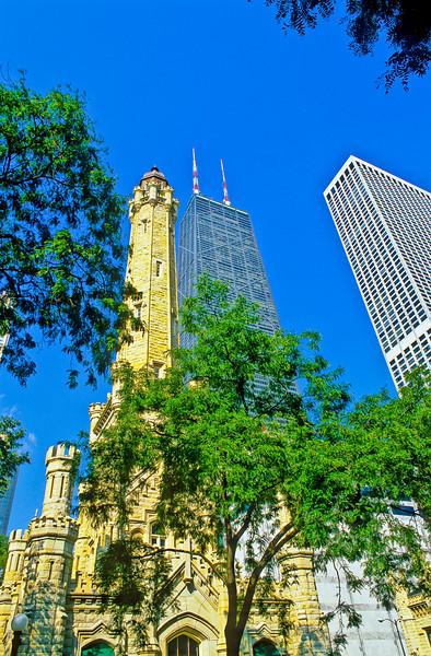 Hancock Building Water Tower