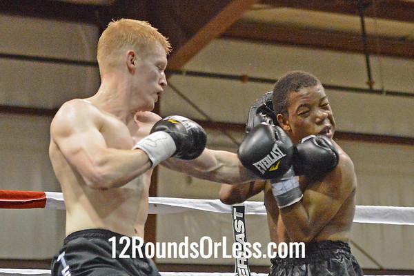 Bout #2 - Brandon Hormer (Fairmont, WV) vs Kareem Millner (Danville, VA)  142 Lbs.