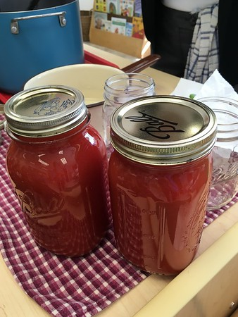 PreK Makes Tomato Sauce With Mrs. Mirabile