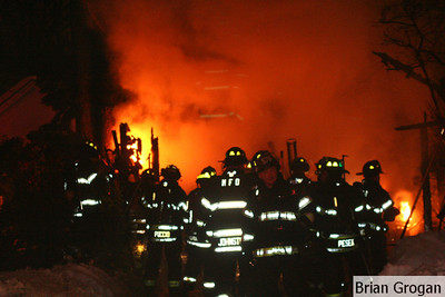 Riveria Ct Garage Fire 2-1-11