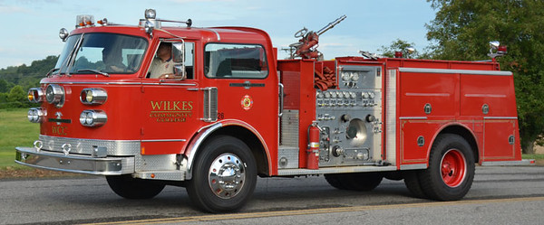 Wilkes Community College Fire Training