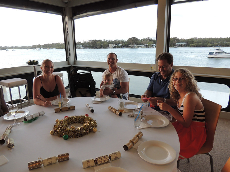 3rd Annual Combat Karate Christmas Party & Awards Noosa 2012 - Zachary's Family