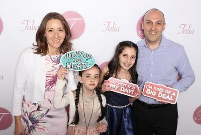Talia's Bat Mitzvah 4-22-18