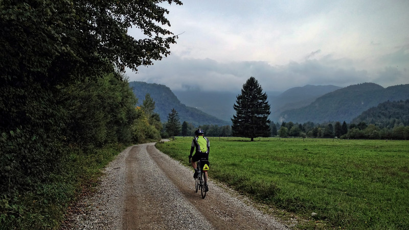 riding into Slovenia