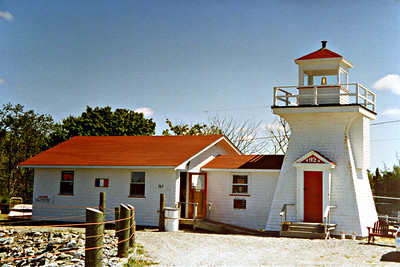 West Pubnico Light, Nova Scotia