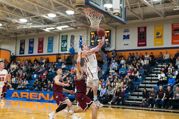 Wheaton College Men's Basketball vs North Central, December 15, 2018