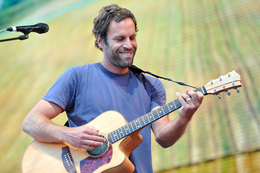 . Jack Johnson performs at Farm Aid 30 at FirstMerit Bank Pavilion at Northerly Island on Saturday, Sept. 19, 2015, in Chicago. Johnson will perform at Blossom Music Center on June 3. For more information, visit livenation.com/events/646223-jun-3-2017-jack-johnson. (Photo by Rob Grabowski/Invision/AP)