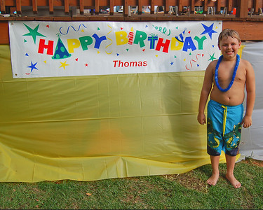 Thomas 8th Birthday