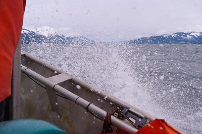 The Water Got A Bit Rough While We Were Out April 2013, Cynthia Meyer, Chichagof Island, Alaska