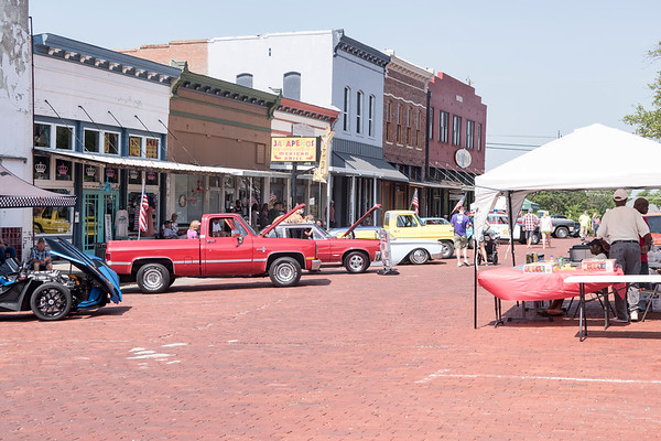 Auto SHOW and Music By Potters Band