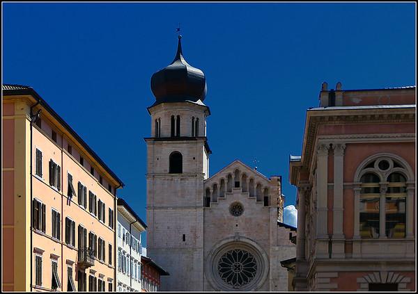 Trento Cathedral. San Vigilio