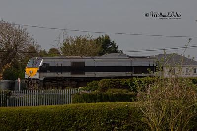 Portlaoise PW Yard (Rail), 22-04-2020