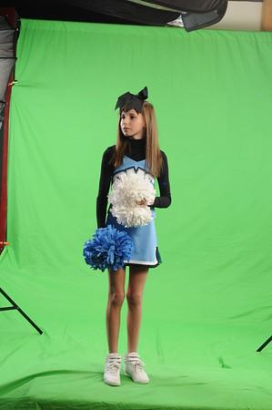 Rachel Cheerleading