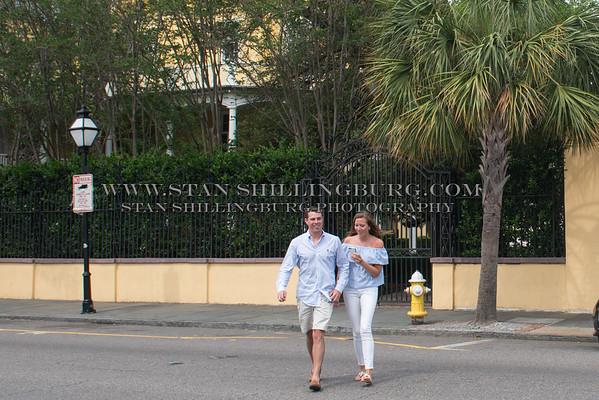 Logan and Maddie's Charleston Engagement
