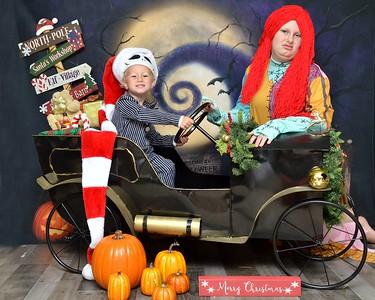 Georgia & Henry Nightmare Before Christmas 2020