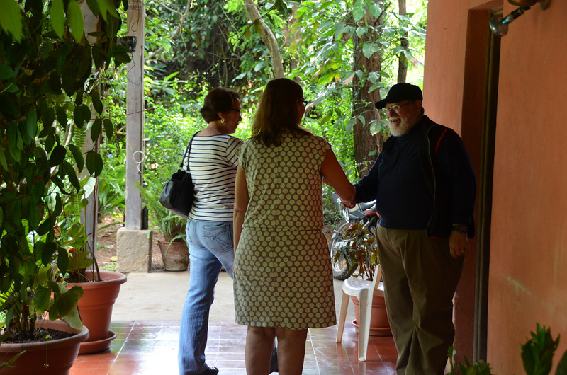 Meeting Don Julio at Finca la Folie