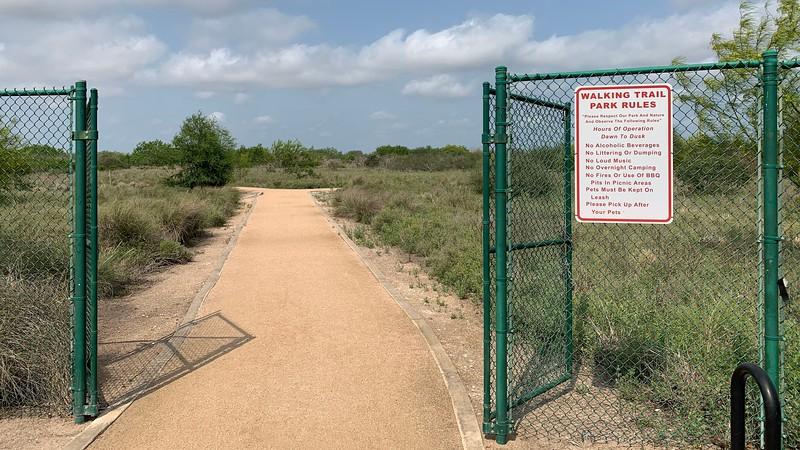 Laguna Vista Nature Trail Entrance