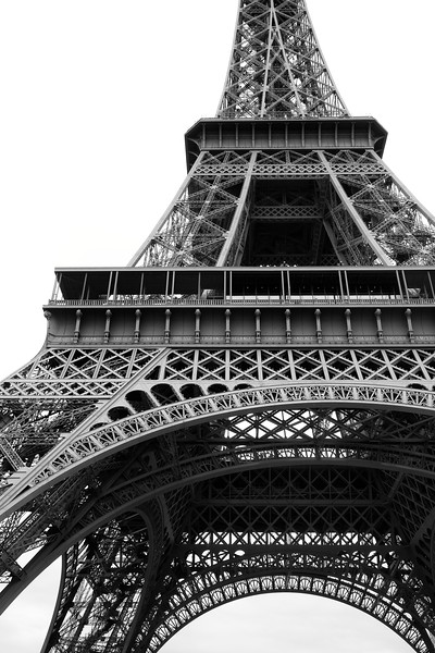 Eiffel Tower Portrait