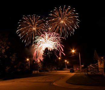 Wabamun Fireworks 2011