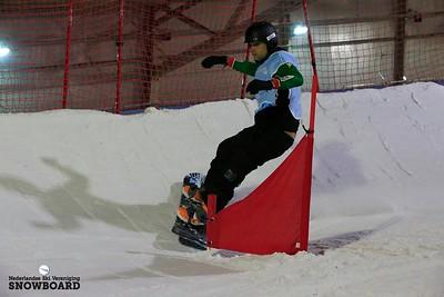 World Cup parasnowboarden banked slalom Landgraaf 2017