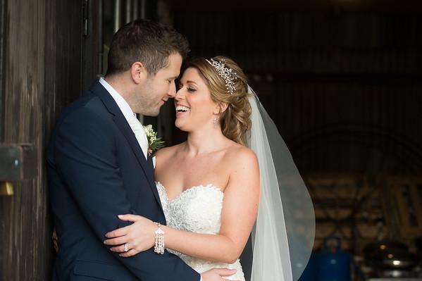 Heather & Sean Winter Wedding The Cripps Barn Cotswolds