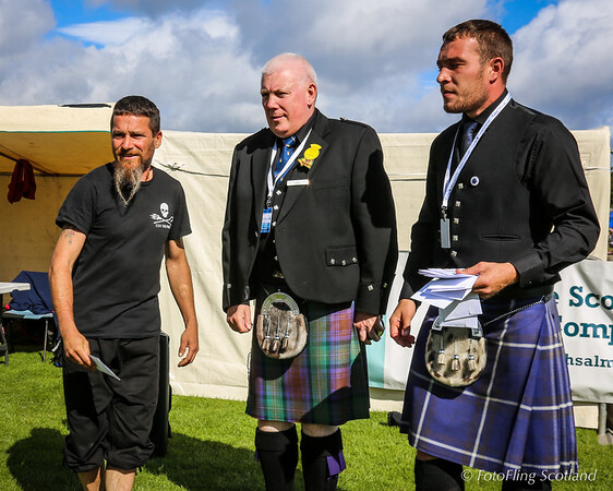Scottish Backhold Wrestling Prize Winner -