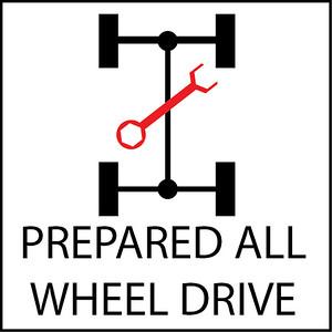 Prepared All Wheel Drive Cars