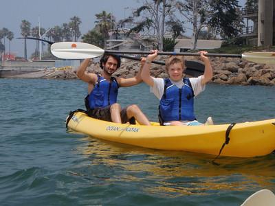 Kayaking Summer 2008