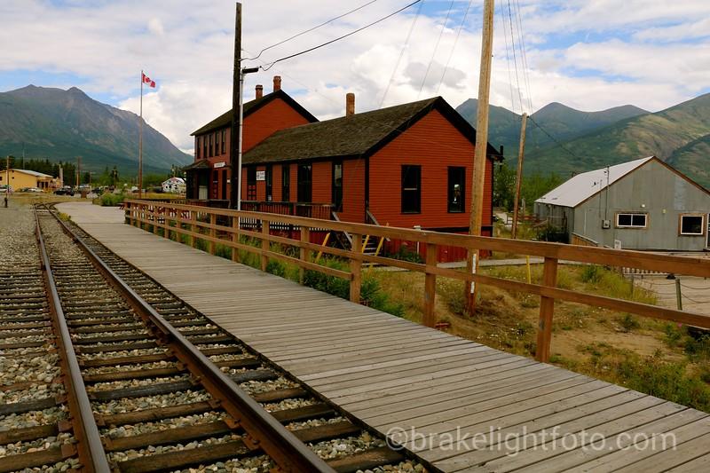 White Pass & Yukon Railway Station