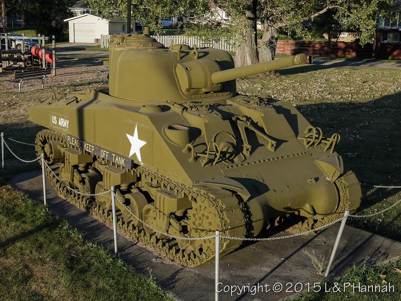 Centennial Park - Larimore, ND - M4A3(75)
