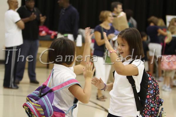 CHCA 2009 EBL First Day of School 08.24