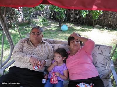 6/26 - With Mama & Papa