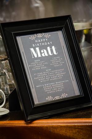 Matt's 40th Surprise Party
