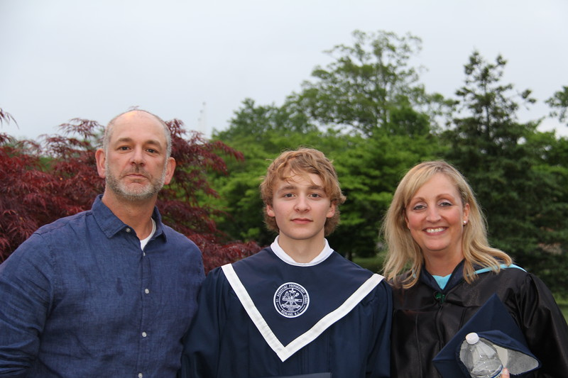 Wyatt and his proud parents