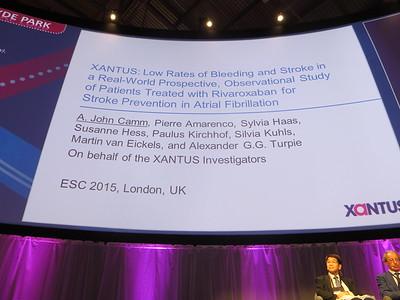 2015 ESC Tuesday Slides XANTUS Dr Camm