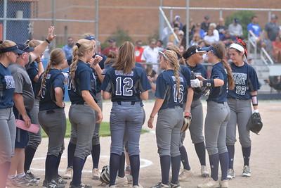 OE Varsity Softball Sectional Vs Plainfield No. 2018
